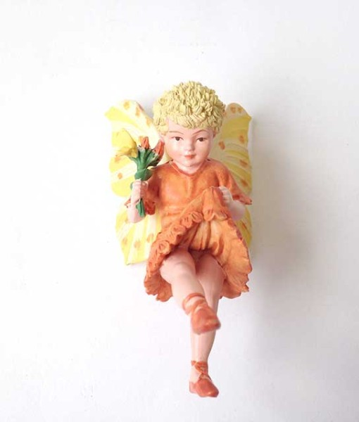 Bird's Foot Trefoil fairy figurine