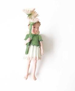 Daisy fairy figurine
