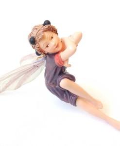Elderberry flower fairy figurine