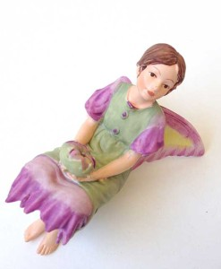 Mallow fairy figurine