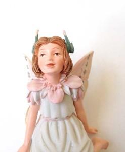 Stork's Bill fairy figurine