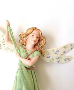 Willow fairy figurine