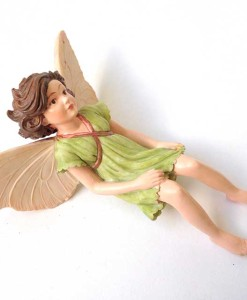 Apple Blossom fairy figurine