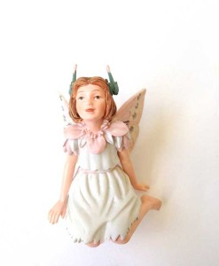 Stork's Bill fairy figurine