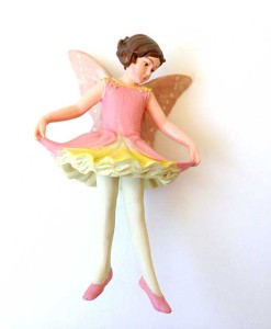 Columbine fairy figurine