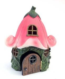 Miniature flower house