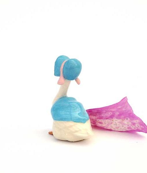 Miniature fairy garden Mother Goose