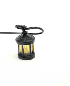 Miniature fairy garden lantern