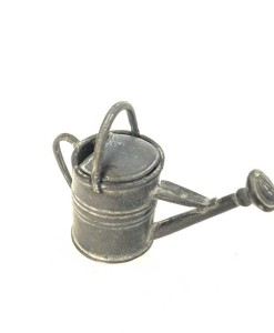 Miniature fairy garden watering can