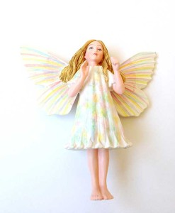 Yarrow Fairy figurine