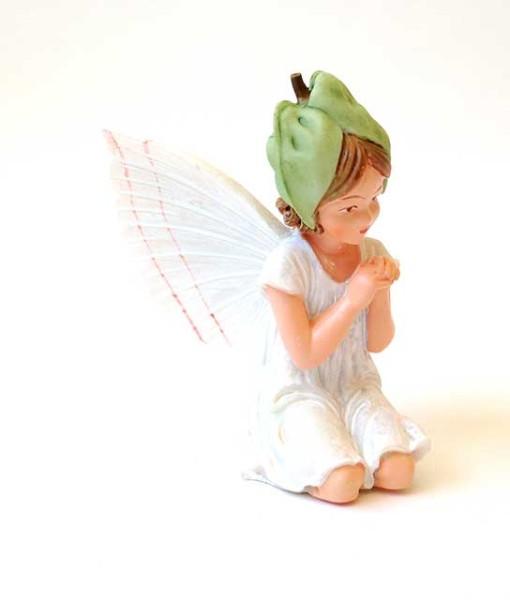 White Bindweed fairy figurine