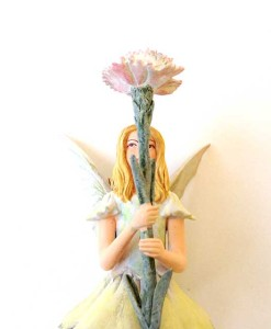 Pink Fairy fairy figurine