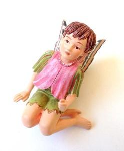 Herb Robert fairy figurine