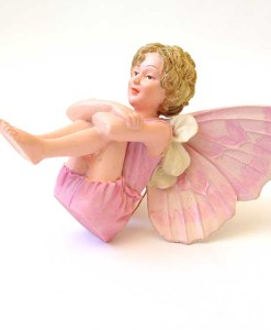 Candytuft fairy figurine
