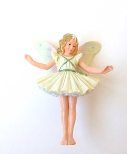 Christmas Tree fairy figurine