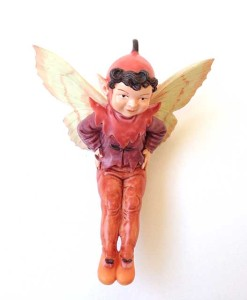 Mulberry fairy figurine