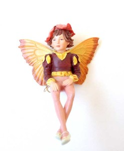 Wallflower fairy figurine