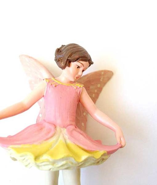 Columbine fairy figurine