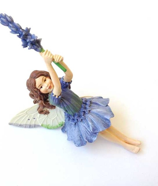 Lavender fairy figurine