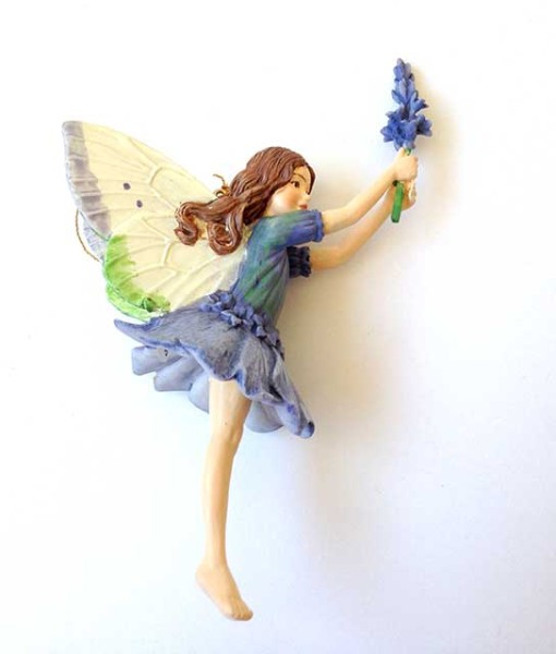 Lavender fairy figurine-Fairy