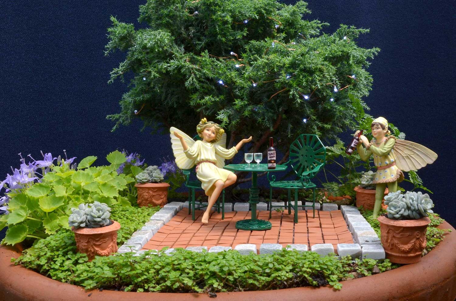 Fairy Gardens Ideas ad diy ideas how to make fairy garden Fairygardenatnight