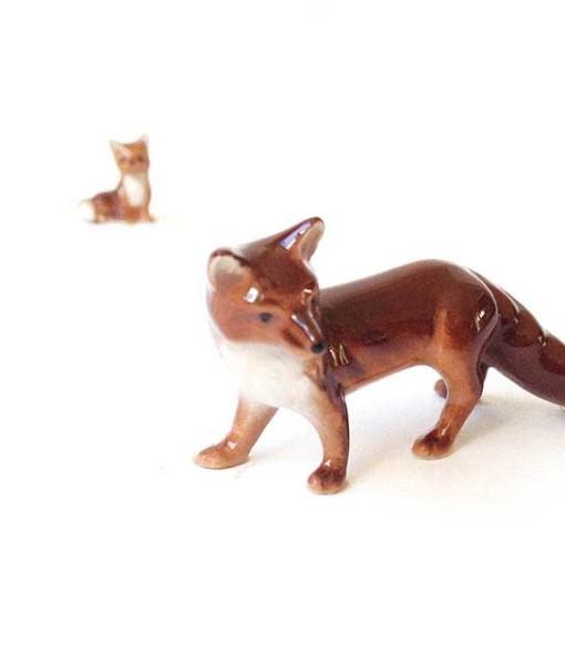 Hagen-Renaker fox miniature