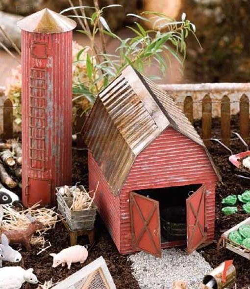 Miniature Fairy Garden Barn Fairy Garden Expert