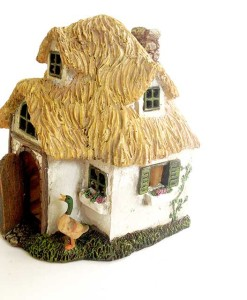 Miniature English cottage
