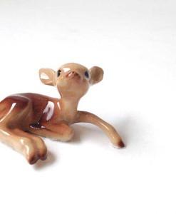 miniature fairy garden fawn, deer