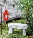 miniaturefairygardenstonebench